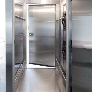 hengel-fermentation-tunnel de fermentation-à-chariots-porte-ouverte-face